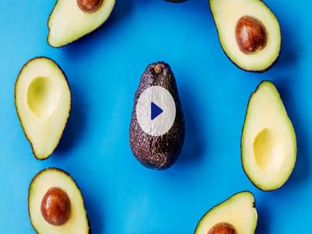 rotating avocados gif