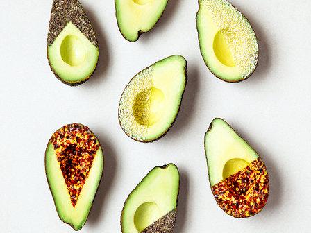 dipped avocados image