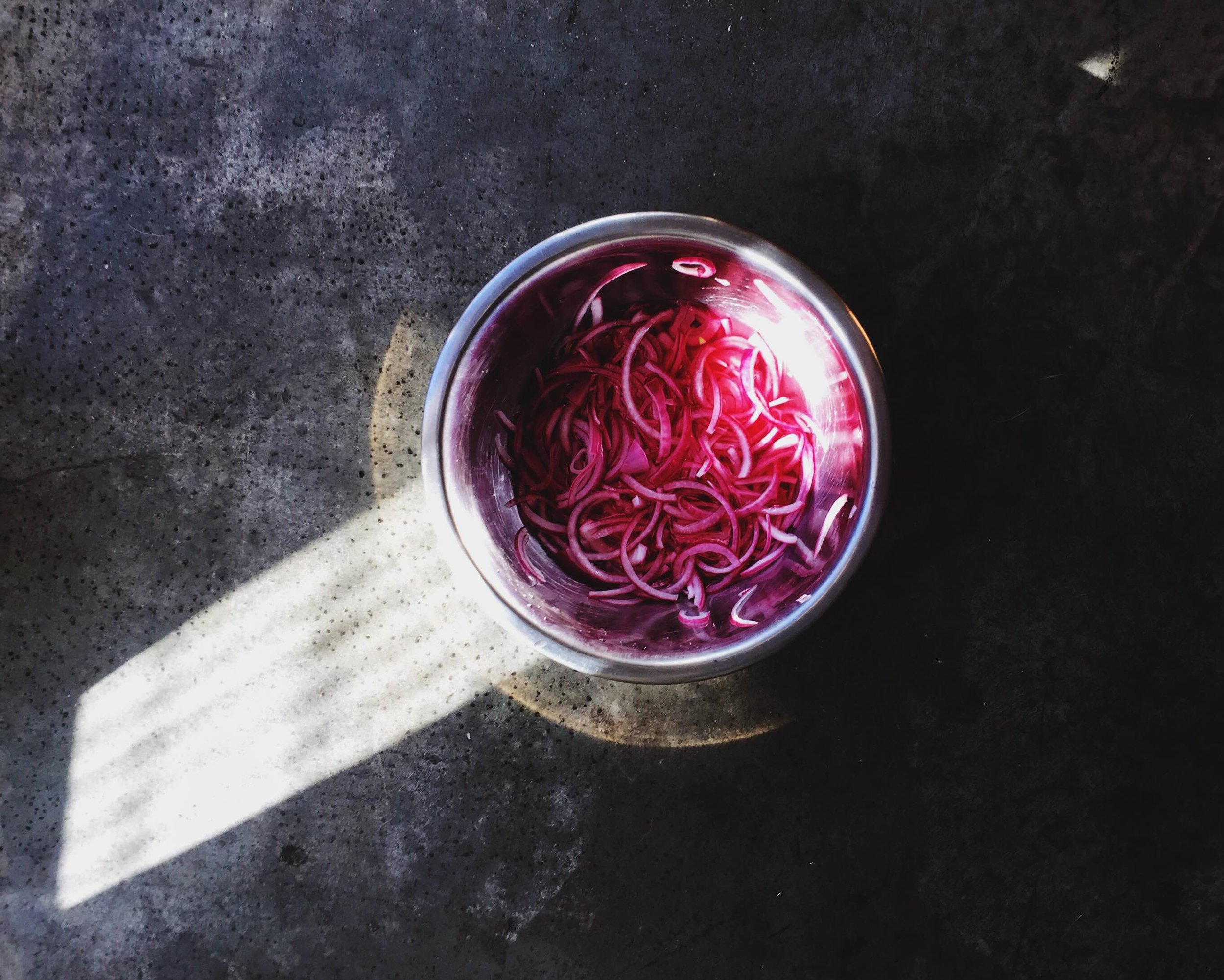 taco tuesday quick red onion pickle