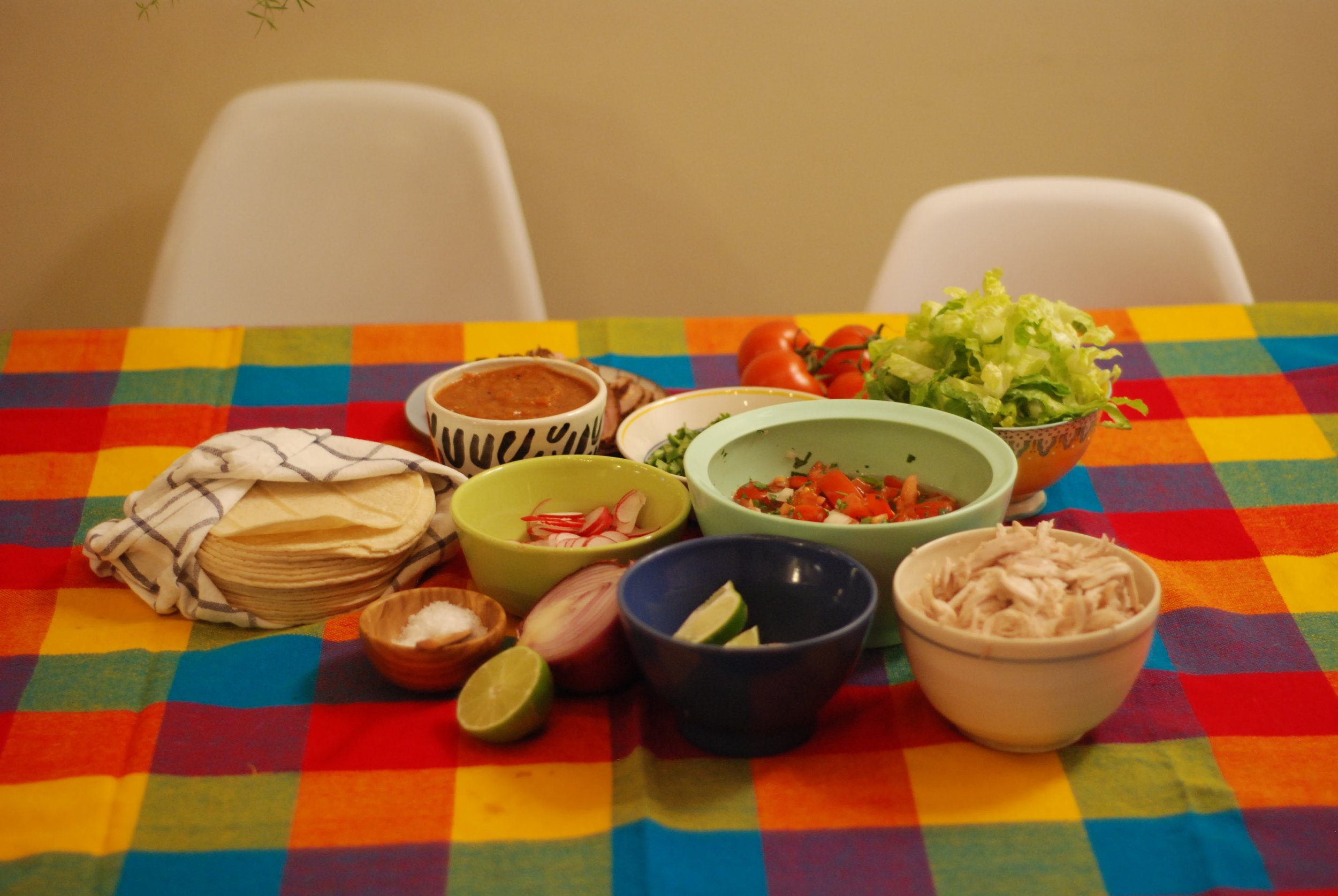 taco tuesday taco bar