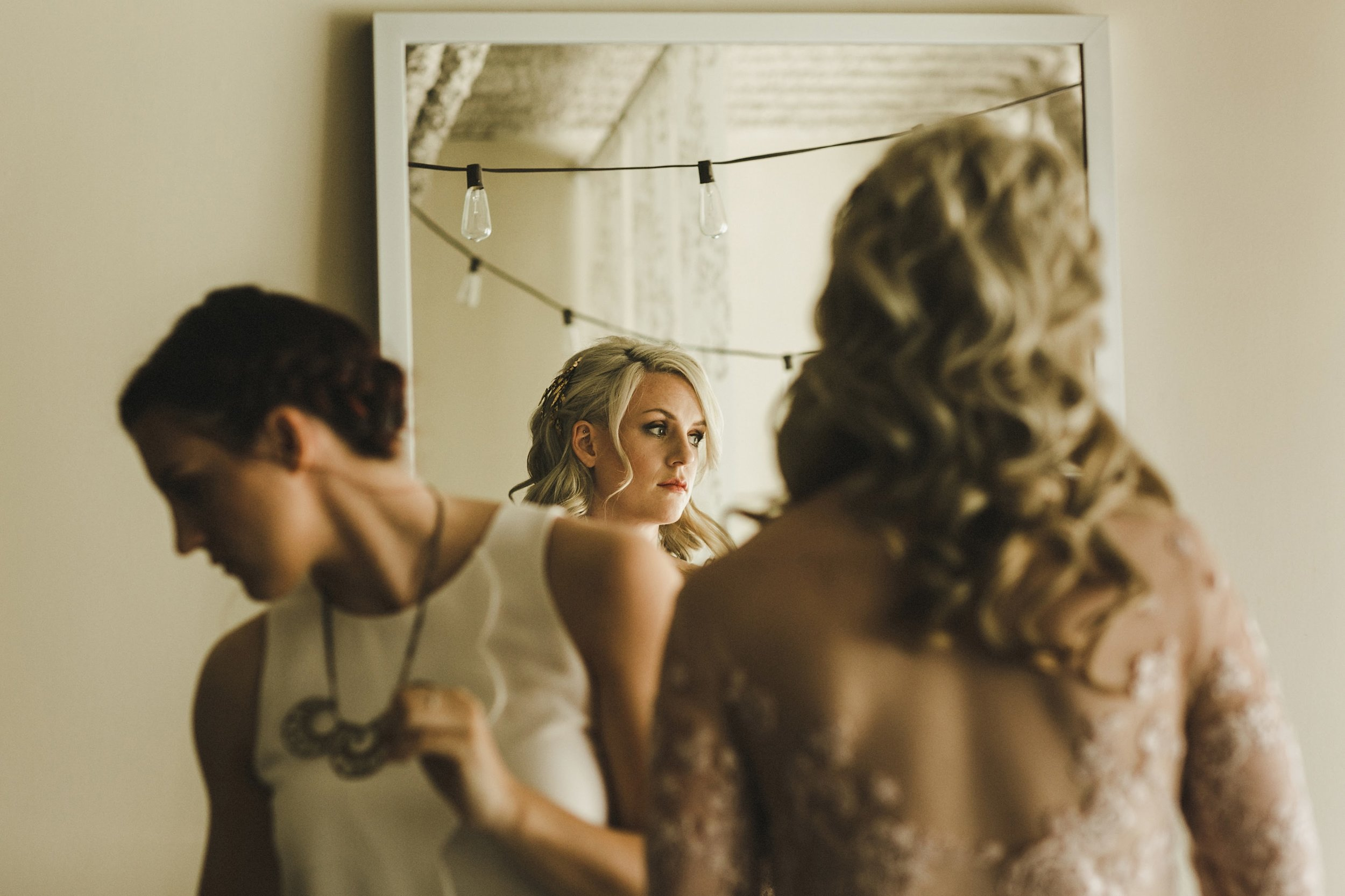HOWE ABOUT FOREVA - Vancouver urban woodshop wedding by Shari + Mike photographers - getting ready