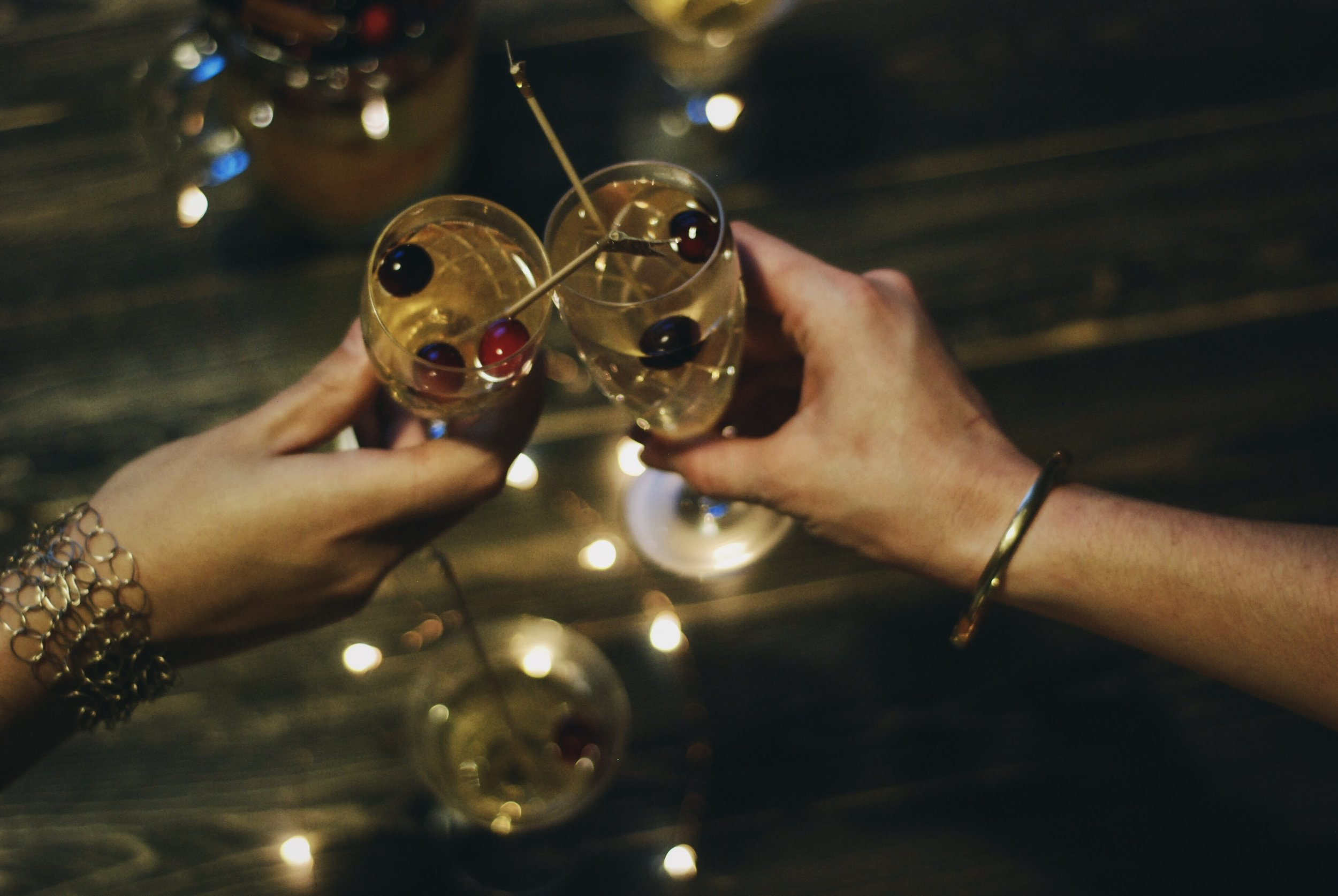 A Festive Friendship Feast for the holidays- holiday sangria