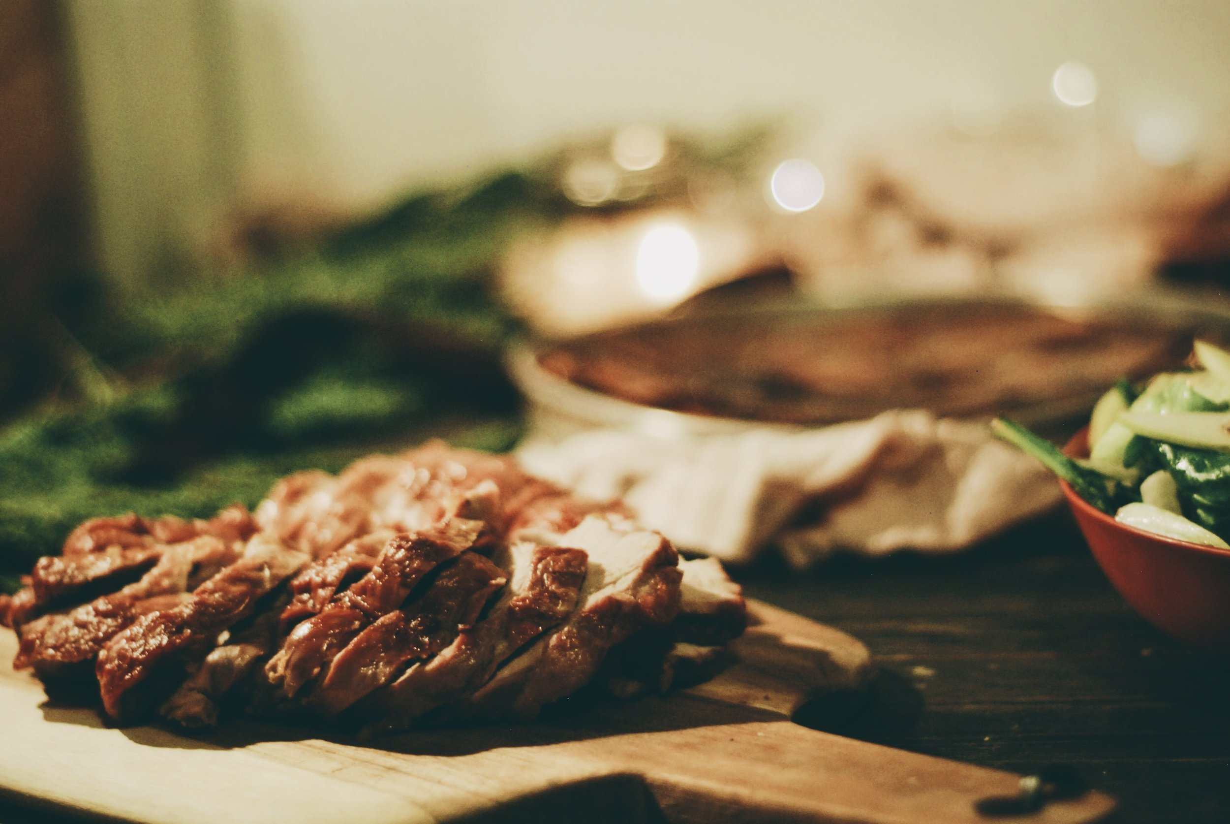 A Festive Friendship Feast for the holidays- apricot stuffed pork