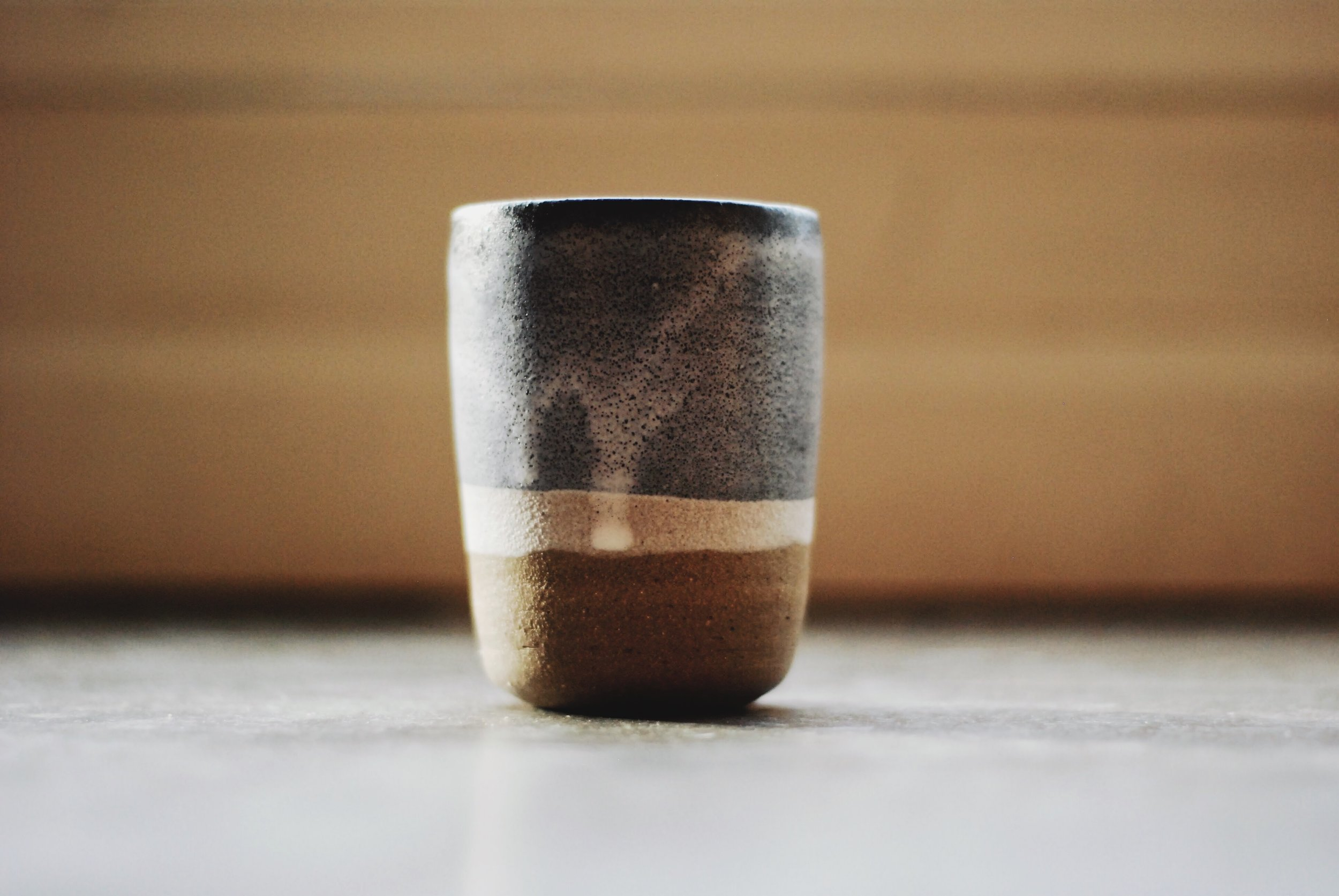Thank you rum tumblers handmade in Vancouver by Maggie Boyd Ceramics