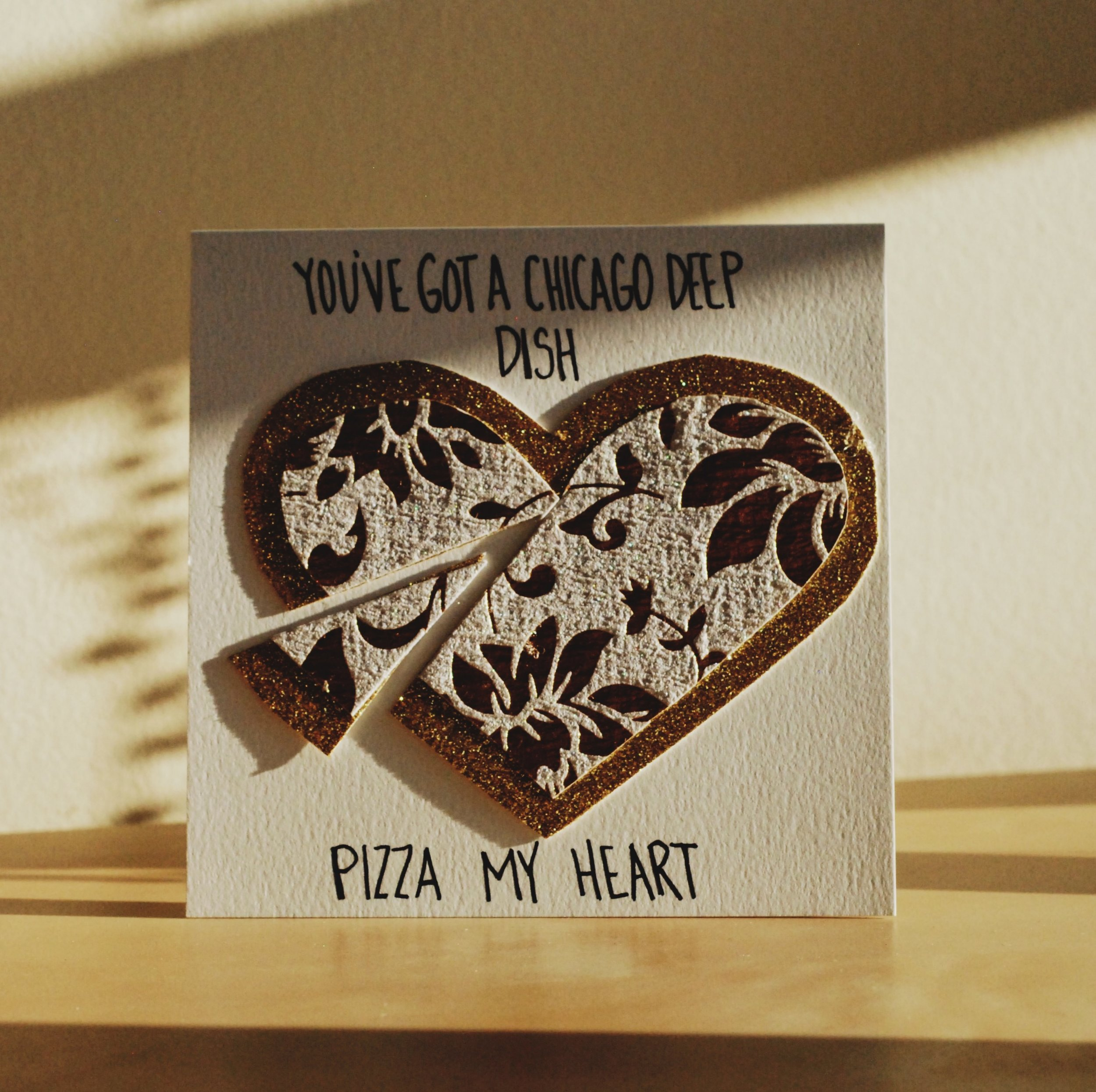 Monthly Mail Club - February 2017 Pizza my heart Valentine