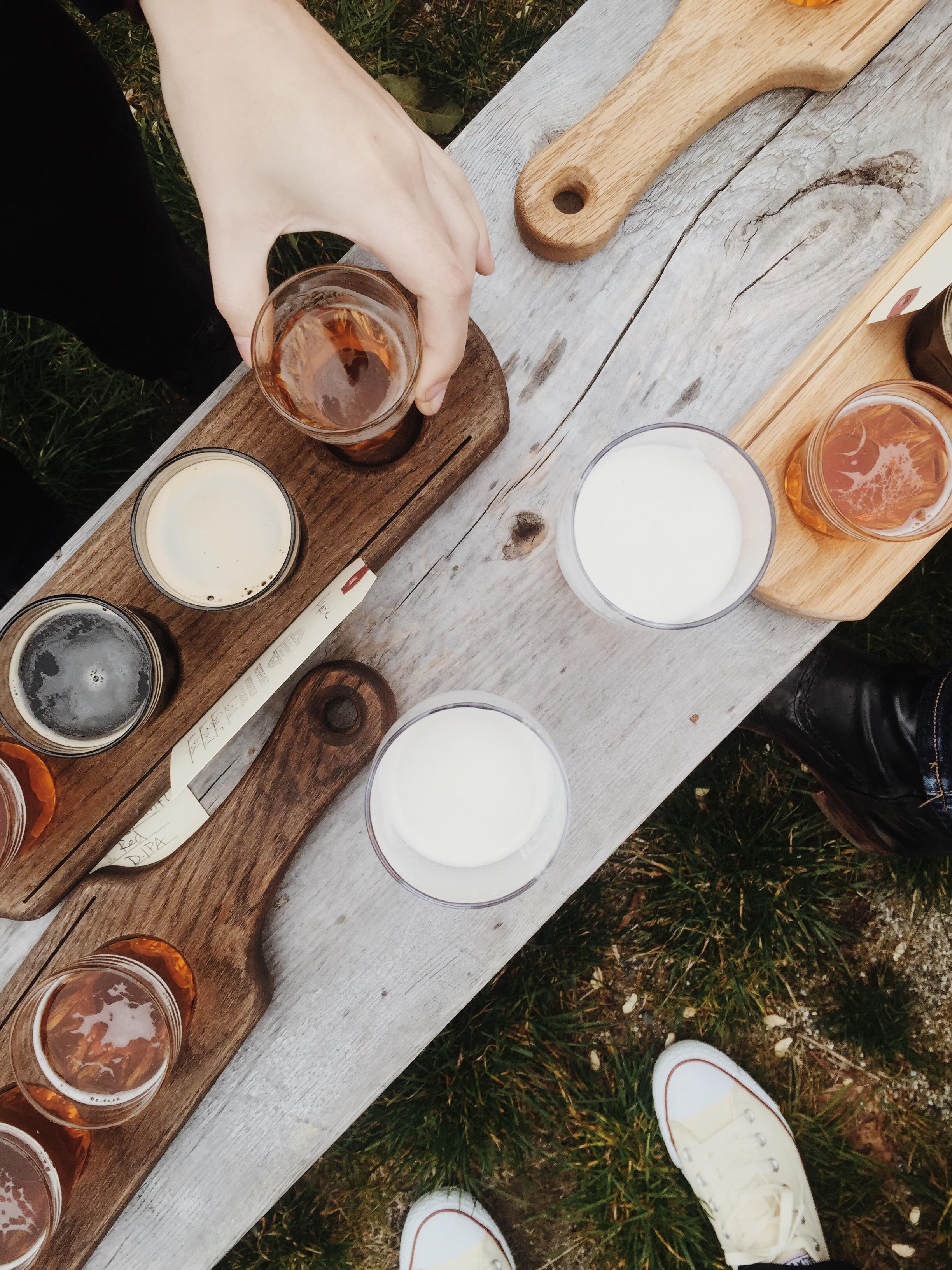 outdoor tasting +