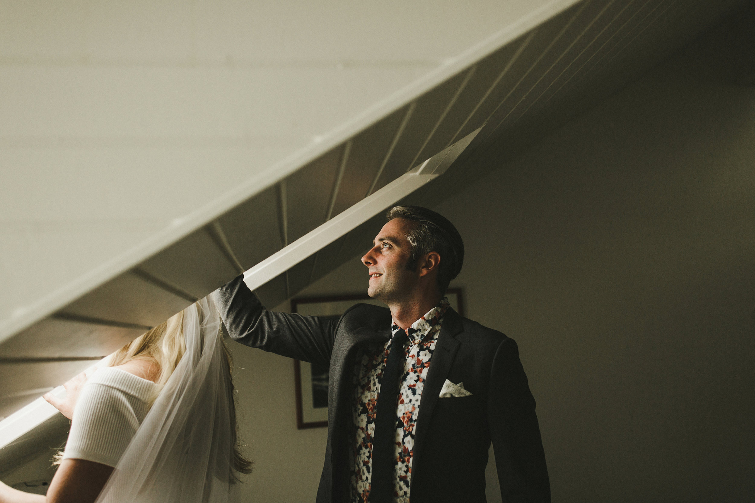 Getting Ready Together on Your Wedding Day - Shari + Mike Photographers