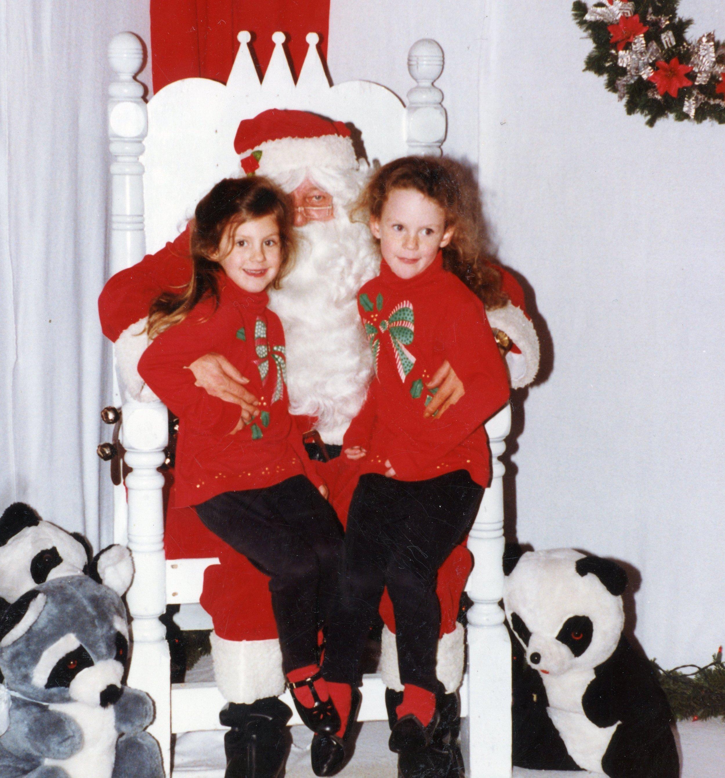 90s Christmas Fashions