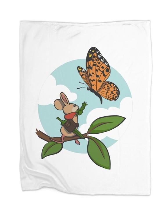 Quill & Butterfly Fleece -