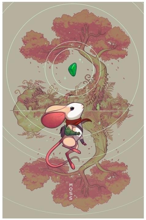 """Twilight Garden"" Poster - Joy Ang -"