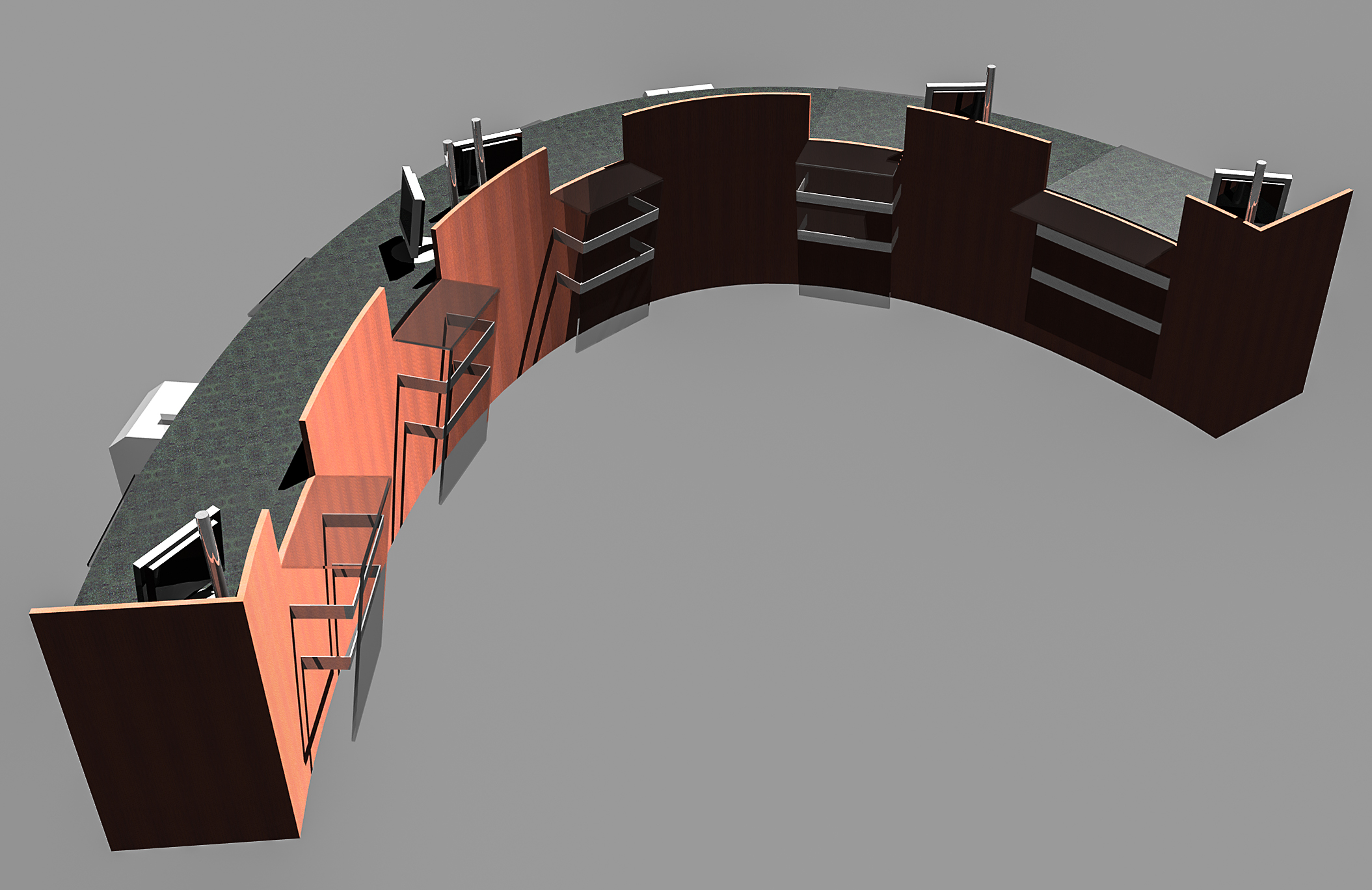 S.F. Bank: Model -- Teller concept