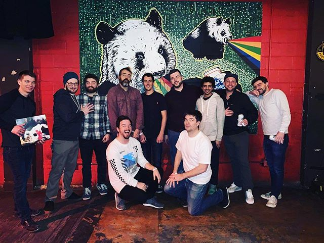 thanks to all of these amazing musicians for coming out and playing ferociously last night.  and thank you to all of our friends, family, and fans old and new for coming out on a thursday night to listen to some loud and crazy shit. @impersonaband @the_pinhook  #durhamnc #livemusic #rock #noise