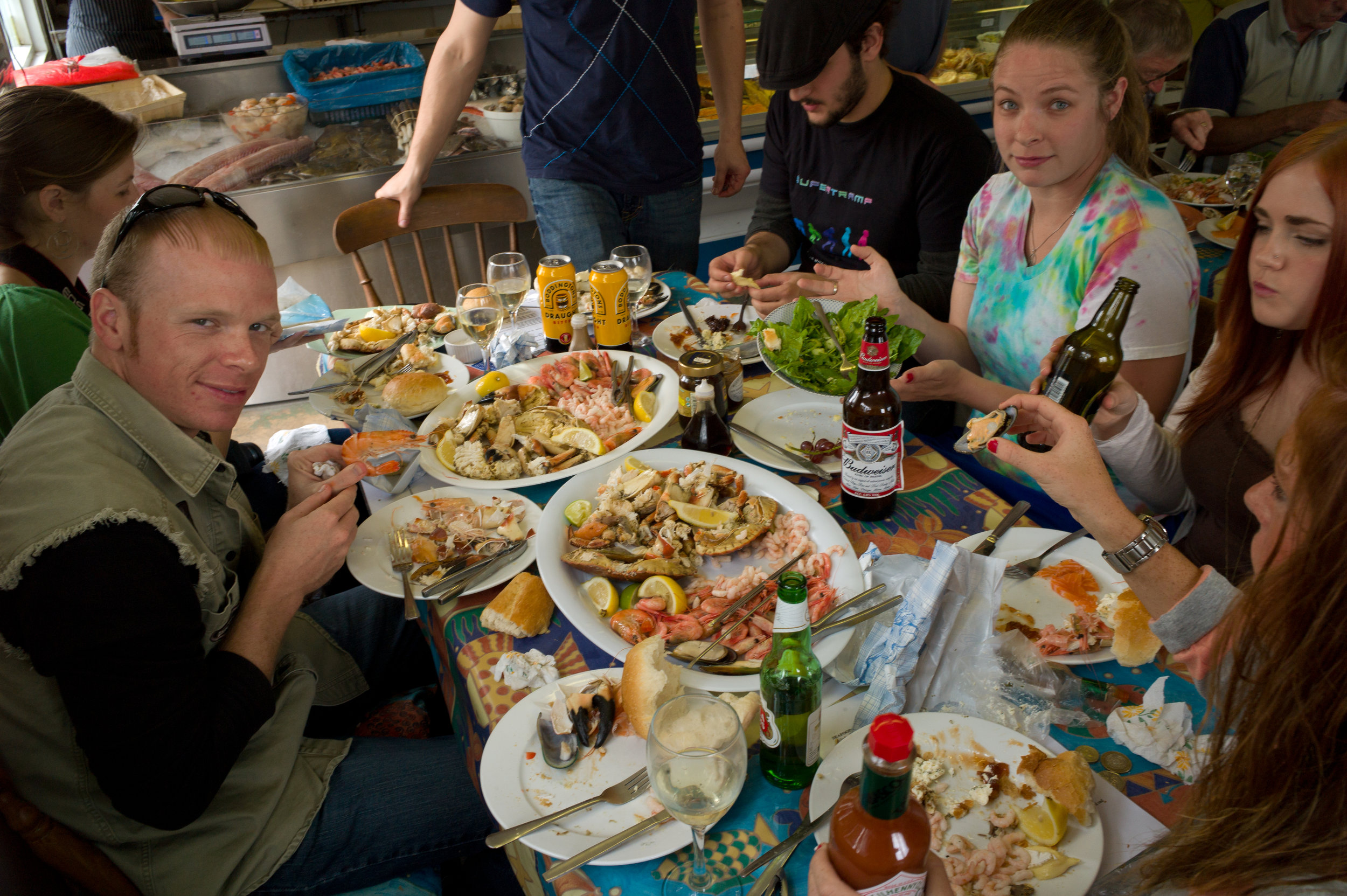 Lunch at 'The Company Shed'