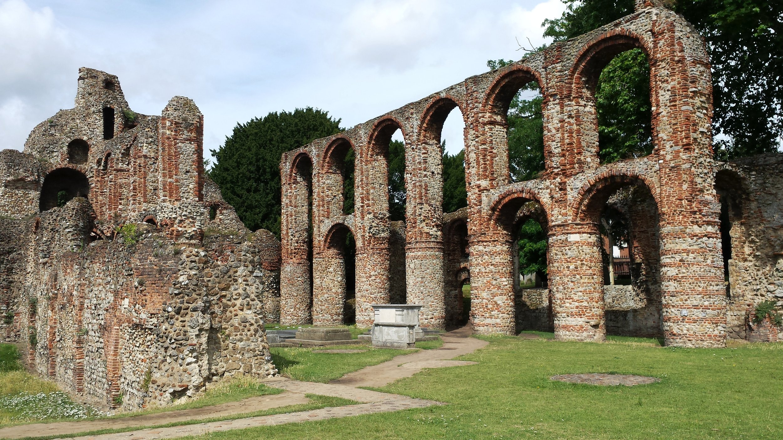 St. Boltophs Priory in Colchester