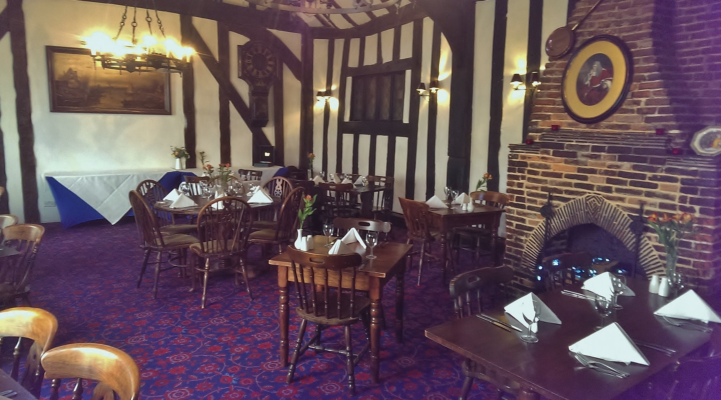 Dining room at the Red Lion