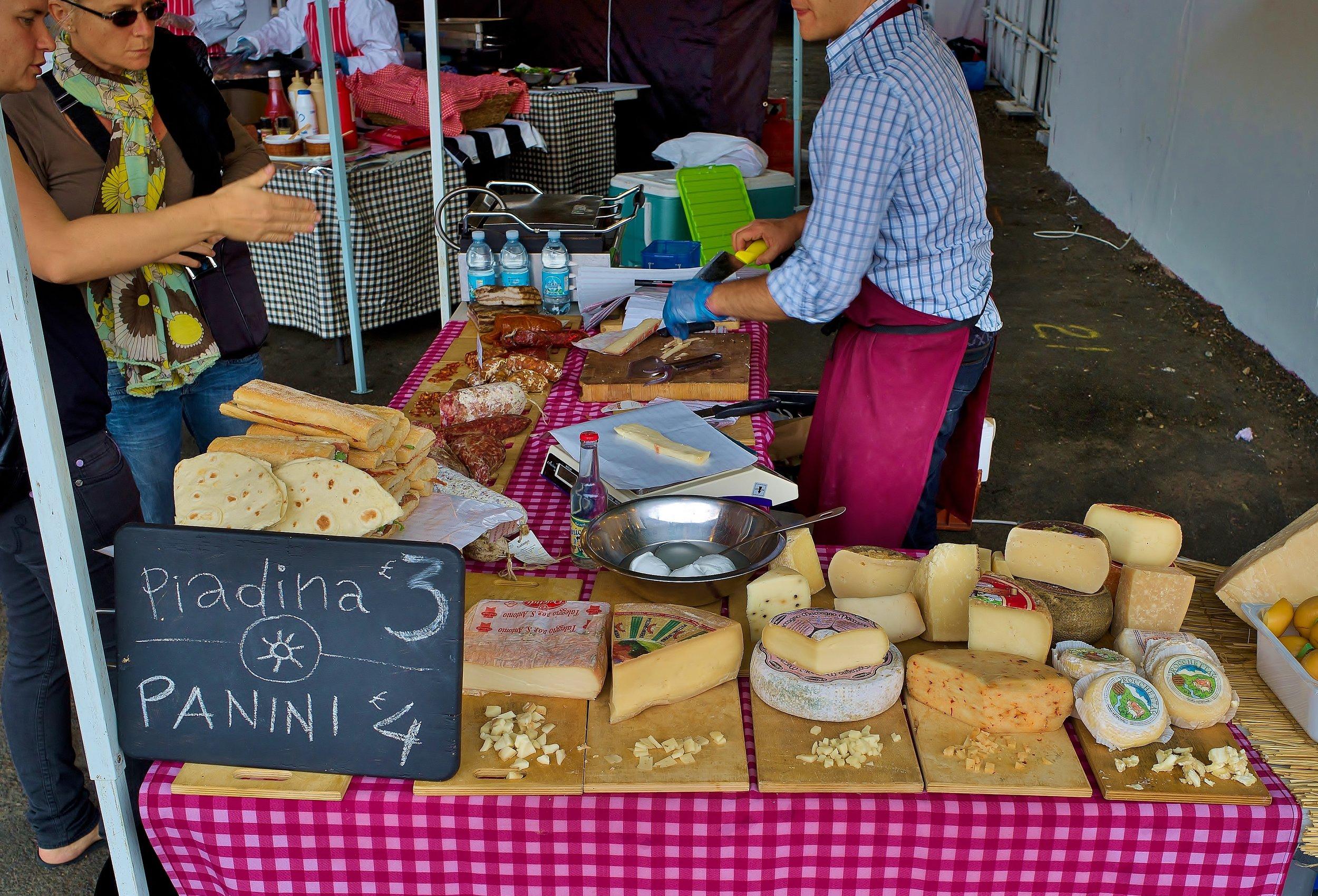 Colchester Market day