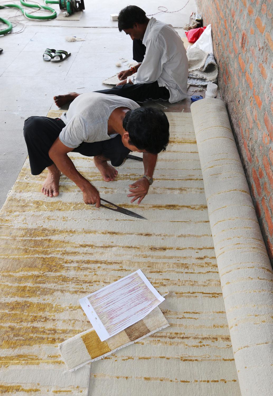 Custom Lapchi rugs made by hand