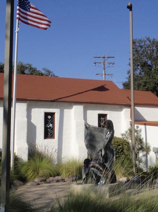 Denny Haskew, Barona Veterans Memorial, Lakeside, CA
