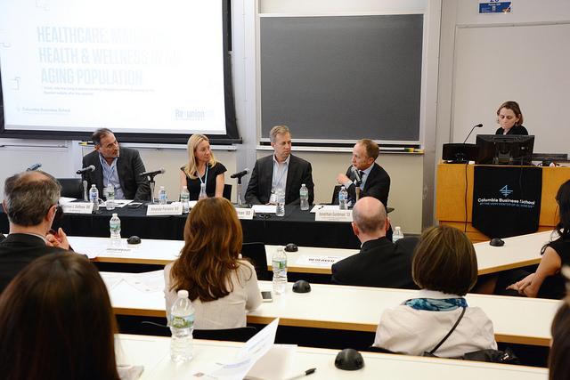 Tom DeRosa, Dr. Amanda Parsons, Peter Steelman, Dr. Jonathan Goldman