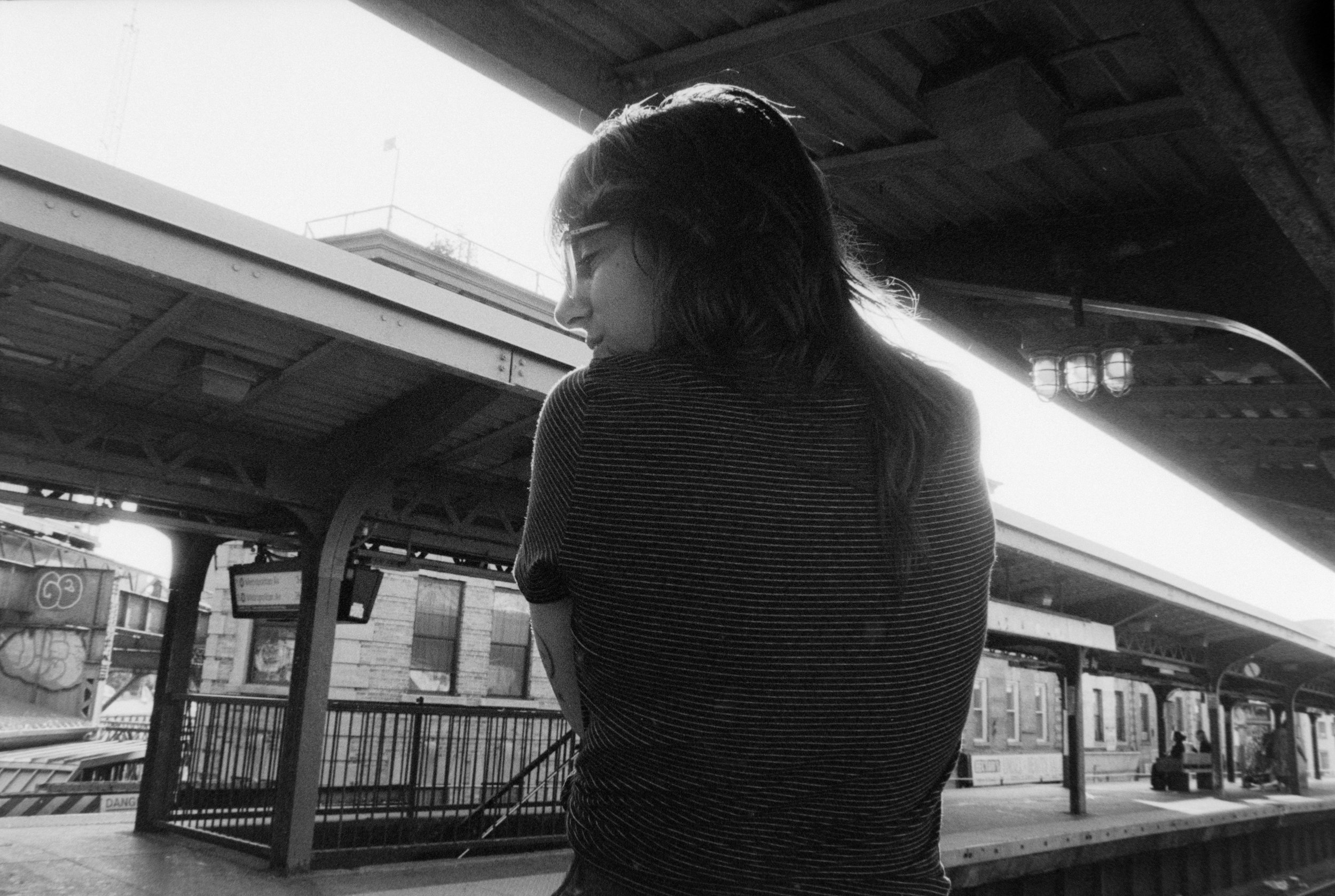 Ashlee 1 - Illford HP5+ Pushed +2