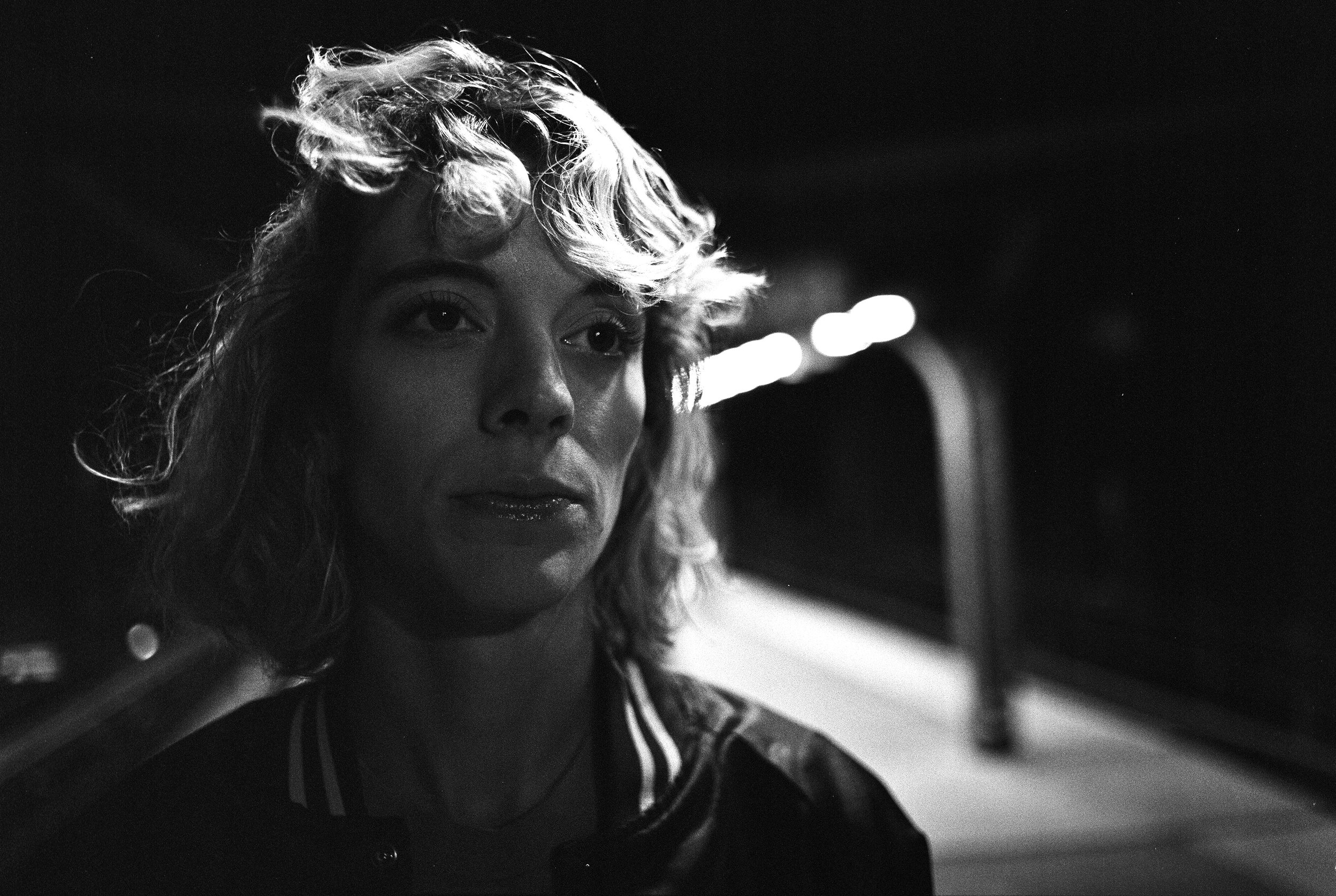 Mallory M Train - Ilford HP5+ Pushed 2 Stops