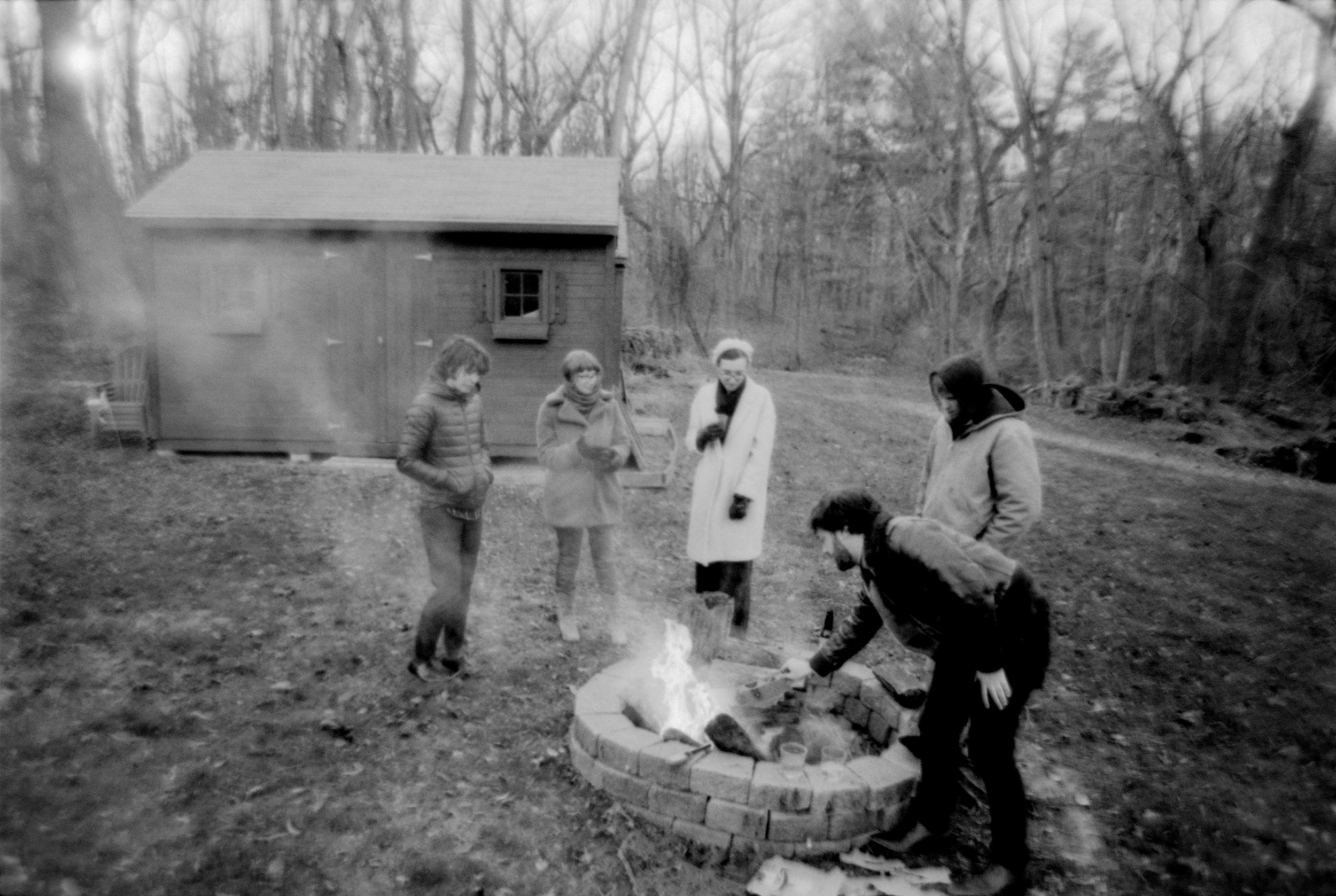 A creepy fire, Thanksgiving 2018