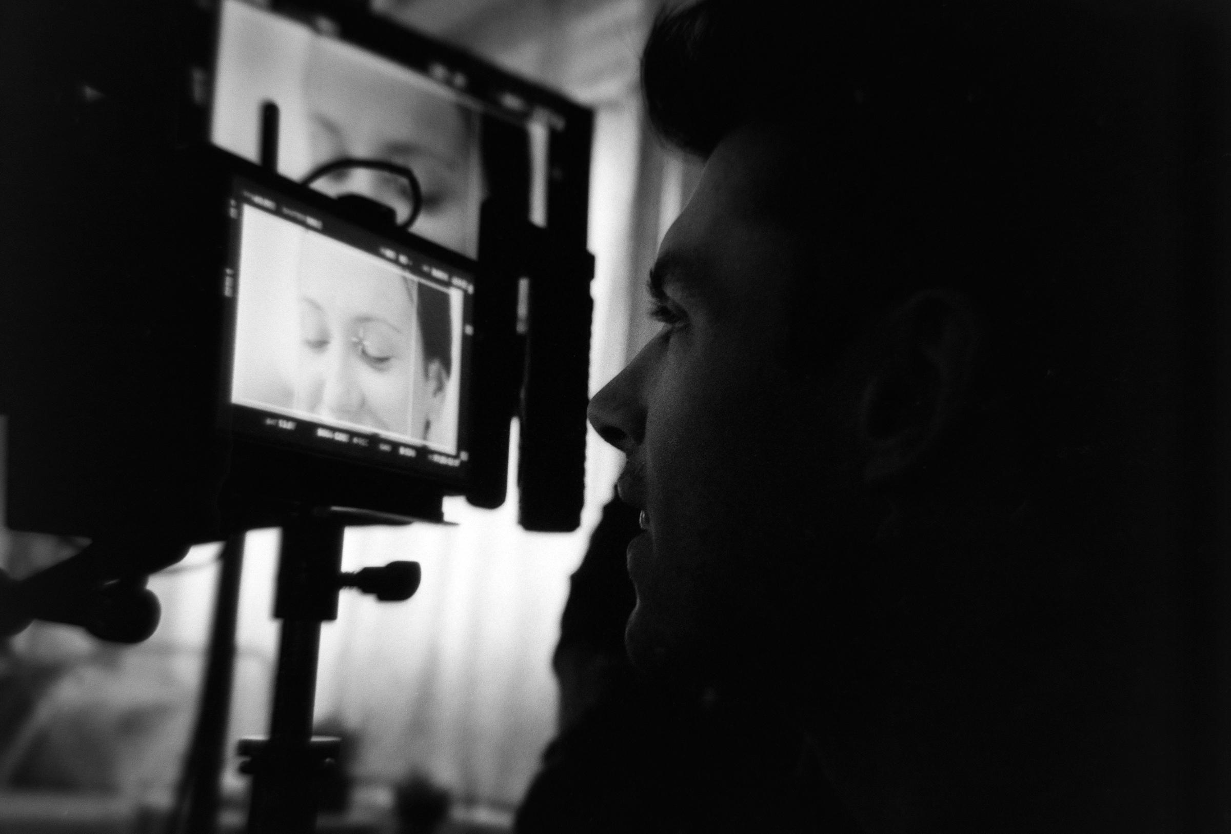 Danny pulling focus