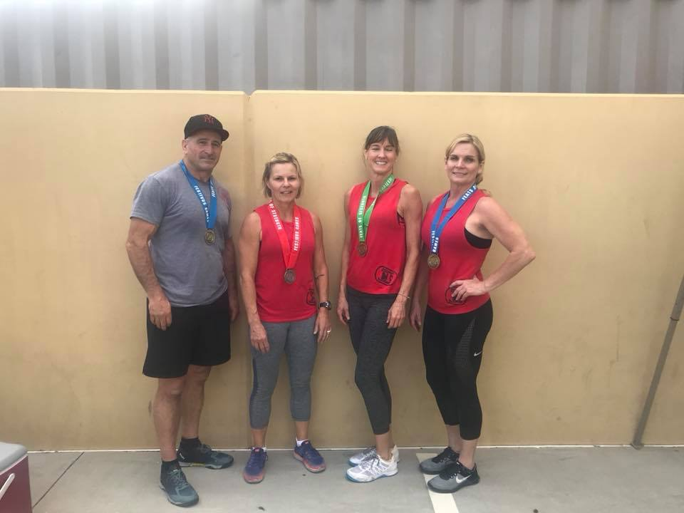 Joe, Penny, Dawn and Cathy!  All medaled at their competition this weekend!!
