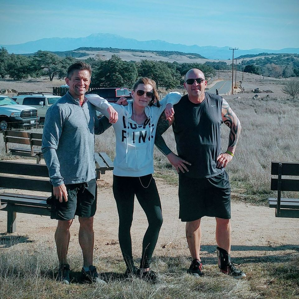 """That one time Mike joined Craig and Jenna for a """"little"""" run…."""