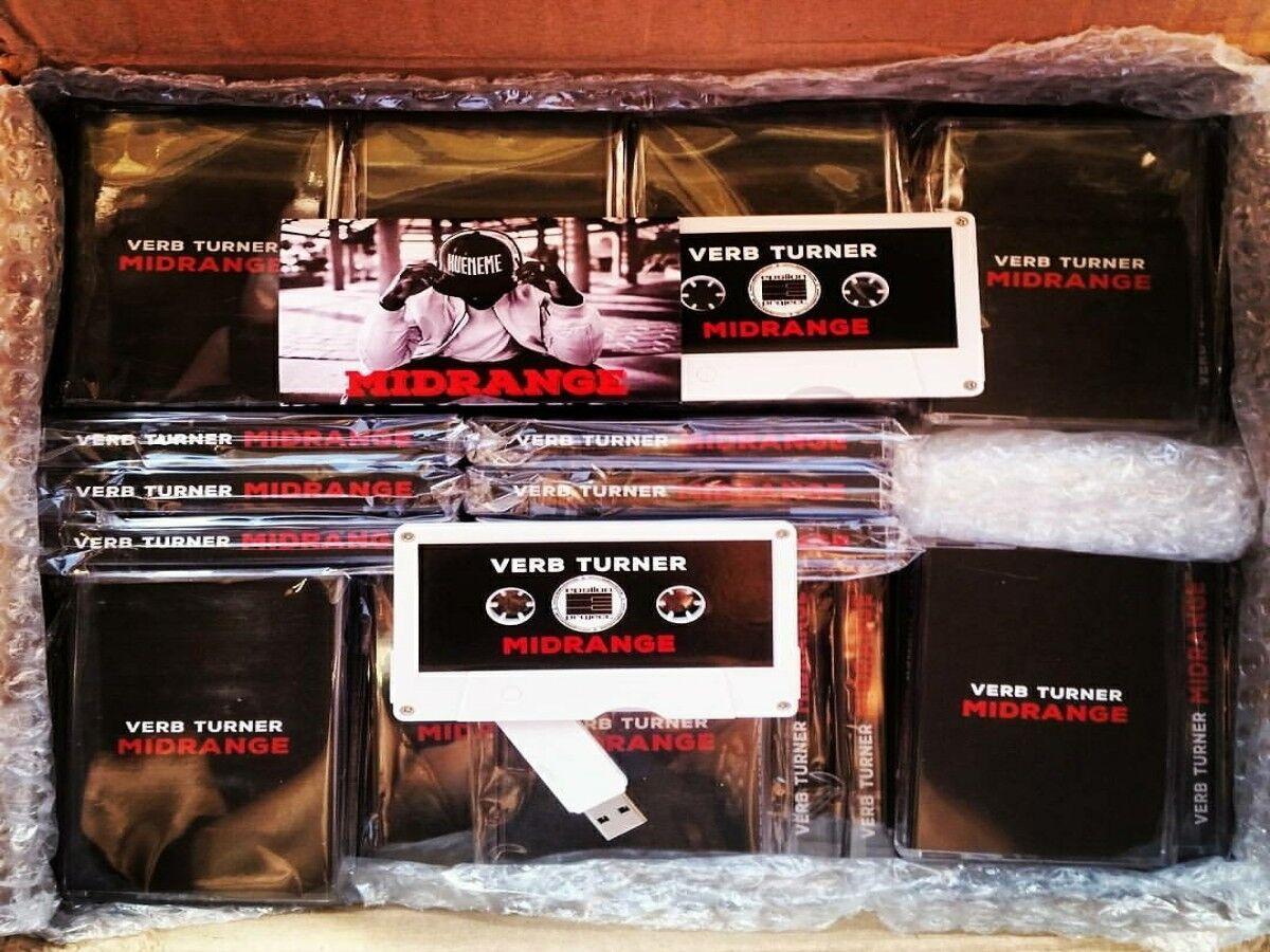 Custom MIDRANGE USB Flashdrive Cassette Tapes