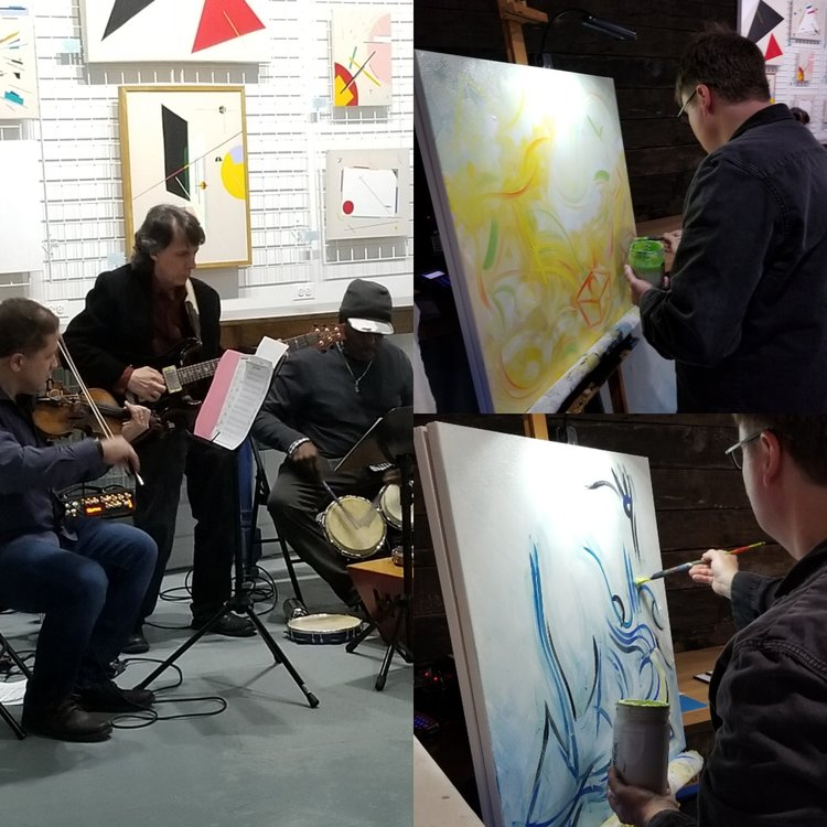 Jazz Concert  |   Live Painting