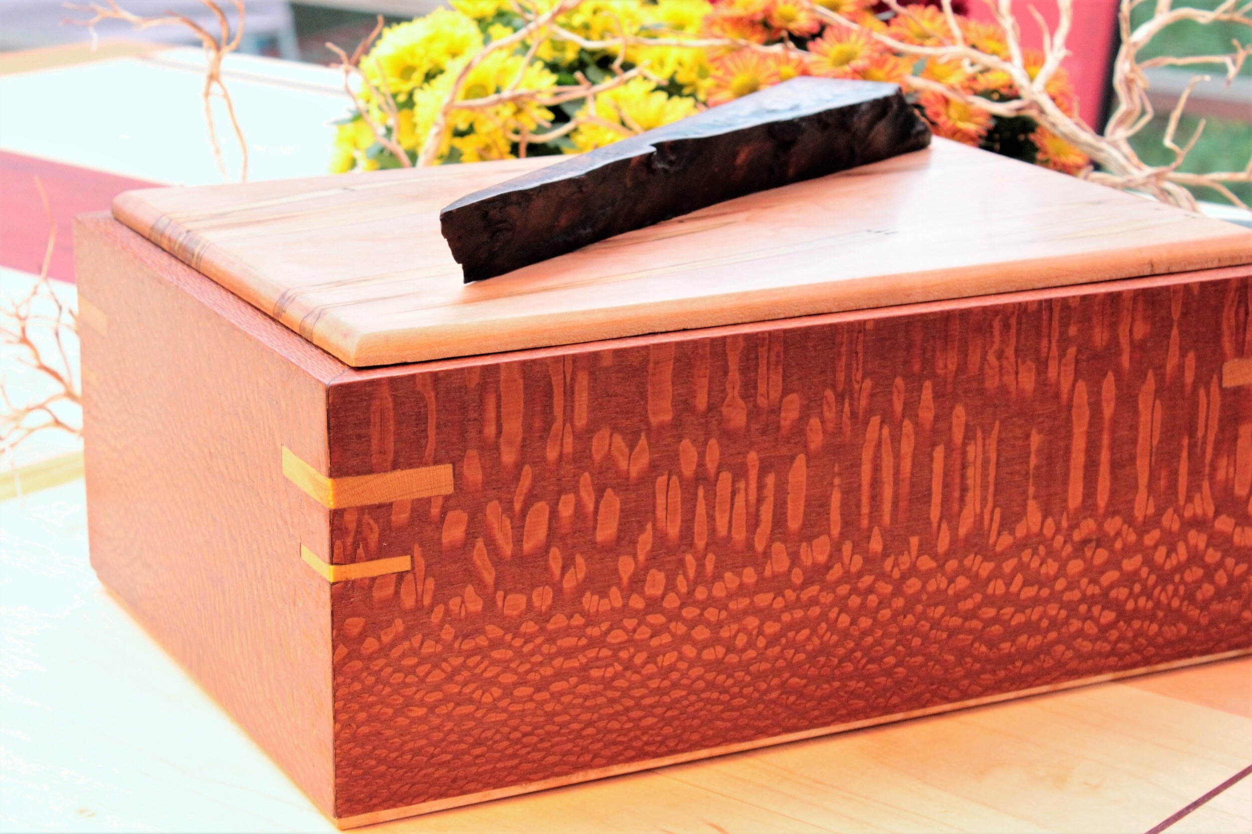 Leopardwood  box
