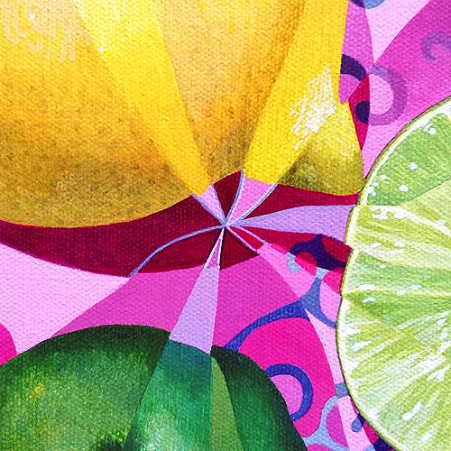 Lemon/Lime (detail view)   SOLD