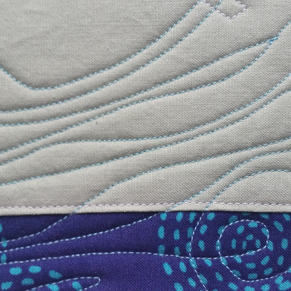 Current Block 7: Low Tide (detail view) | SOLD