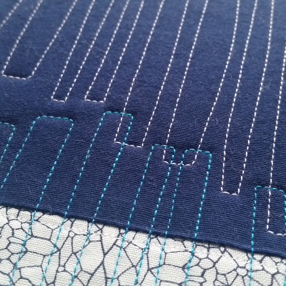 Current Block 17: Stack (detail view)   SOLD