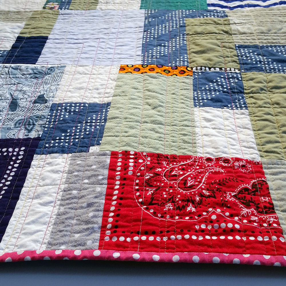 Quilt Diary March-May 2017: What Kind of Day Has It Been (detai view) | NFS