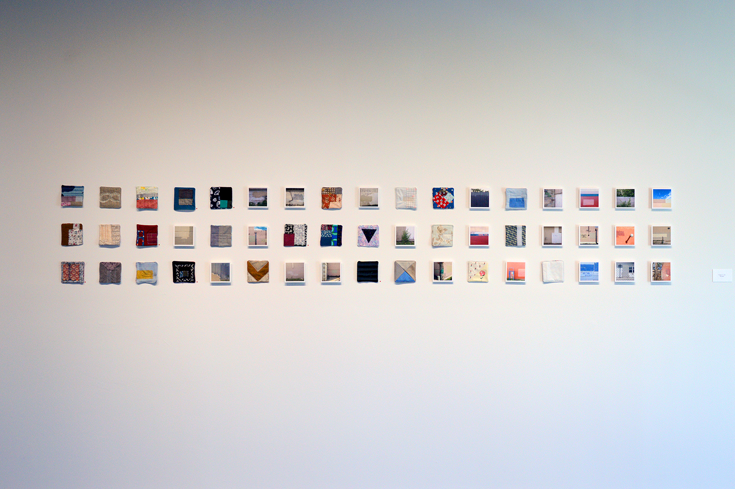Posts by randall barnes (installation view)