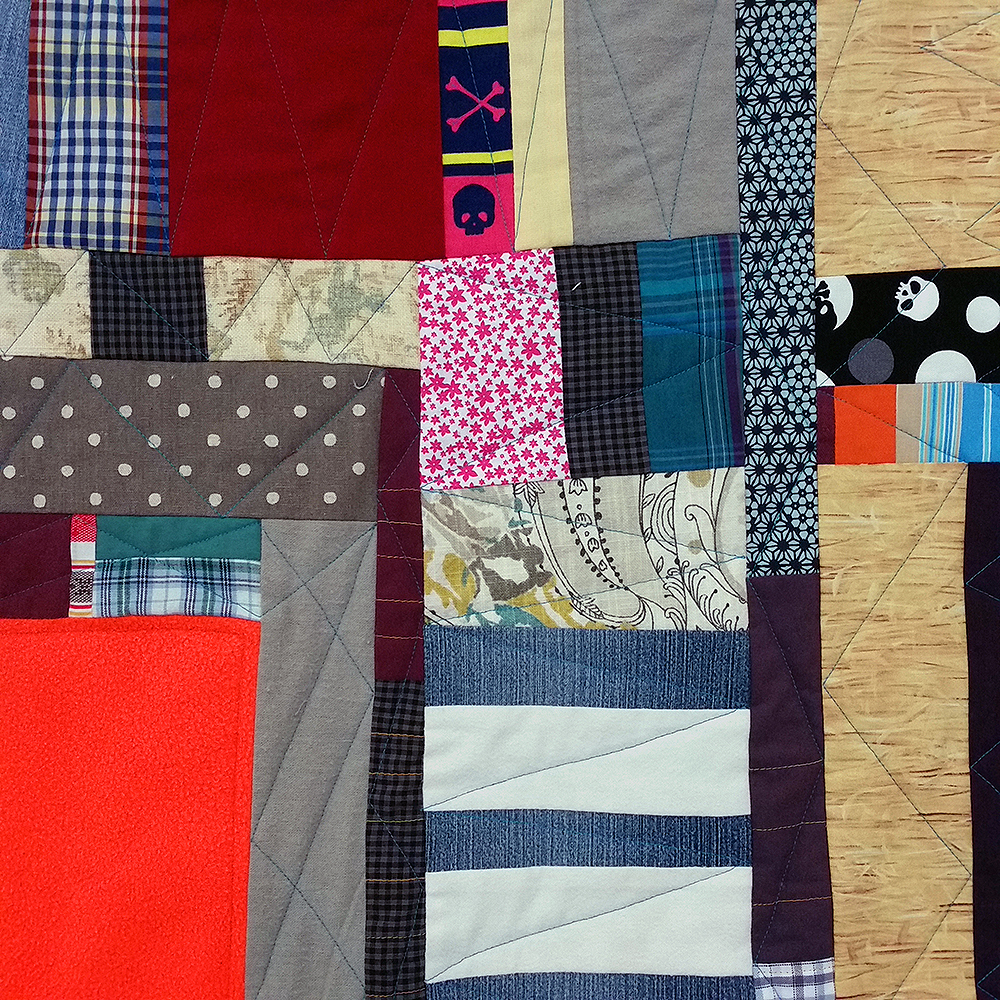Safety Blankie (quilting detail) | $830