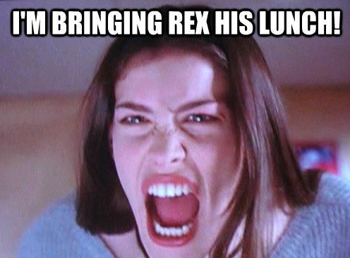 i'm bringing rex his lunch.jpg
