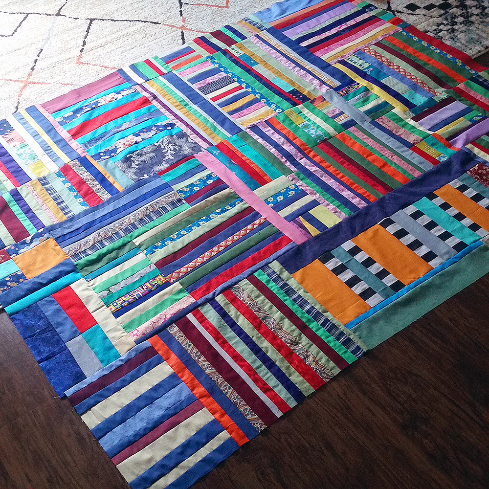 Quilt Diary 201807: Under the Whelm (in progress) | NFS