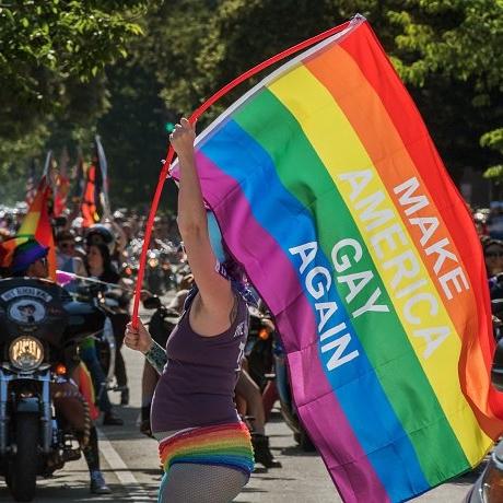 "Original ""Make America Gay Again"" Anti-Hate, Pro-Equality 3' x 5 ..."
