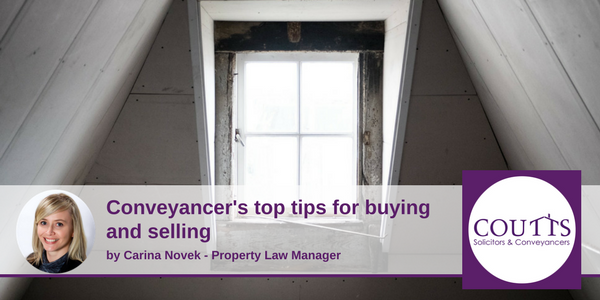 Conveyancer's top tips for buying and selling