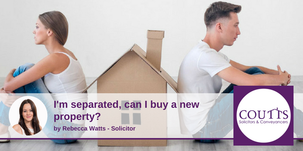 I'm separated, can I buy a new property?