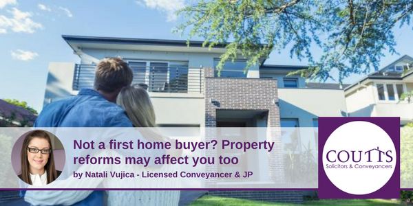 Property reforms for non first home buyers