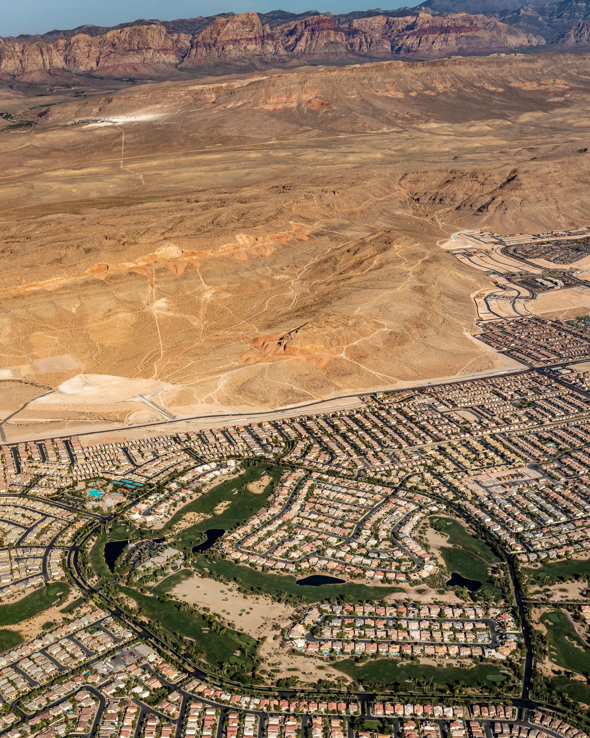 Suburban Edge of Las Vegas NV