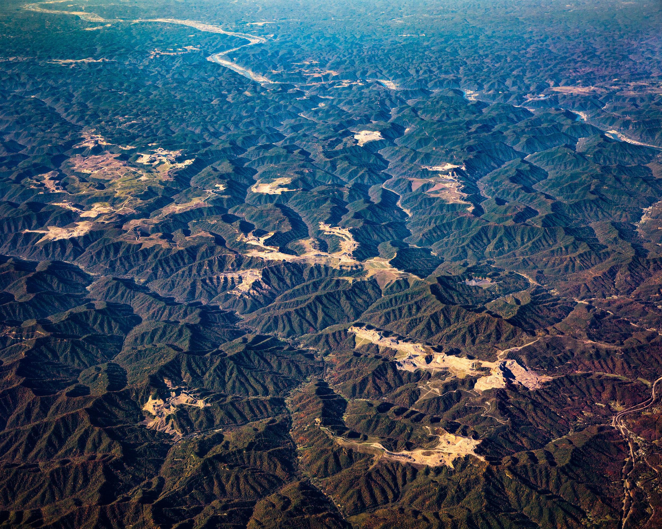 MTR Coal Mines near Charleston West Virginia