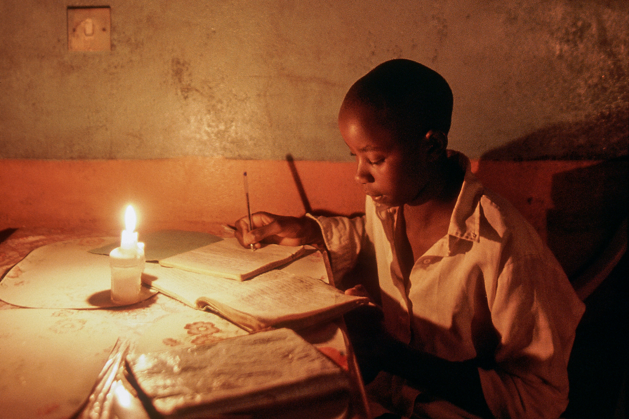 Literacy by Generation in Africa