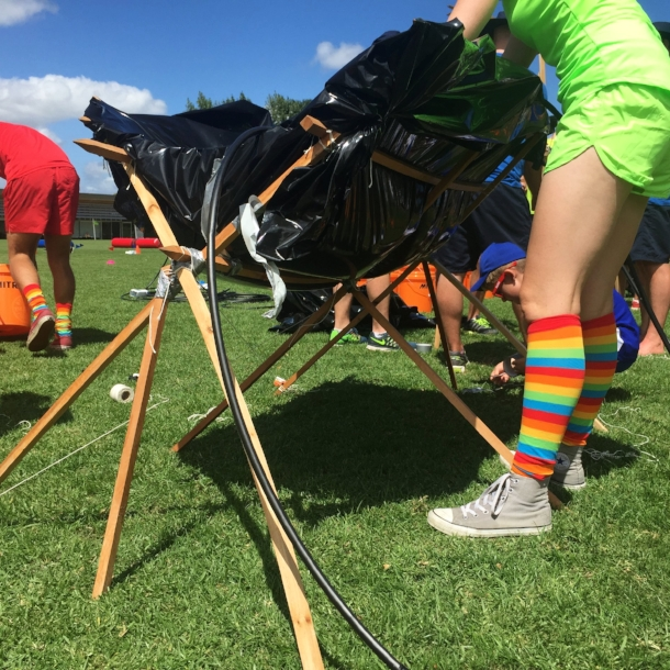 Making a colourful splash at the Oxfam Water Challenge | Morphum Environmental