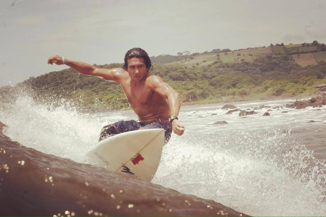 Diego Intriago, an avid surfer and diver, knows and understands the importance of sharks in his favorite place to spend time, and advocates for their protection even after having been bitten by one in the Galapagos.