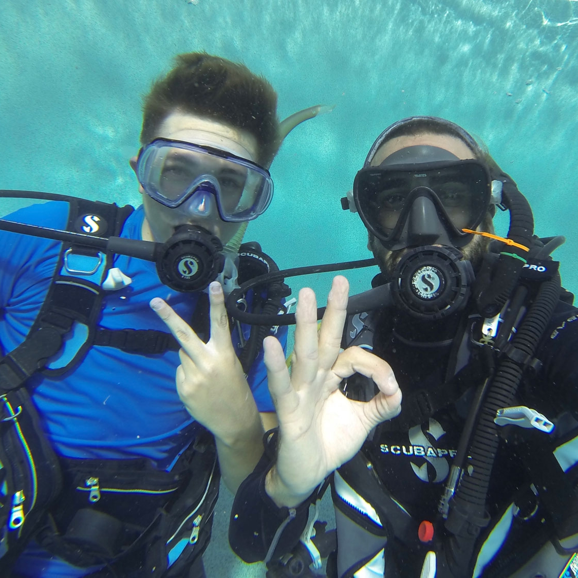 Try out diving for the first time to see if you like it with an introductory program, called a Discover SCUBA Diving program by PADI.